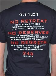 911 fundraiser tee